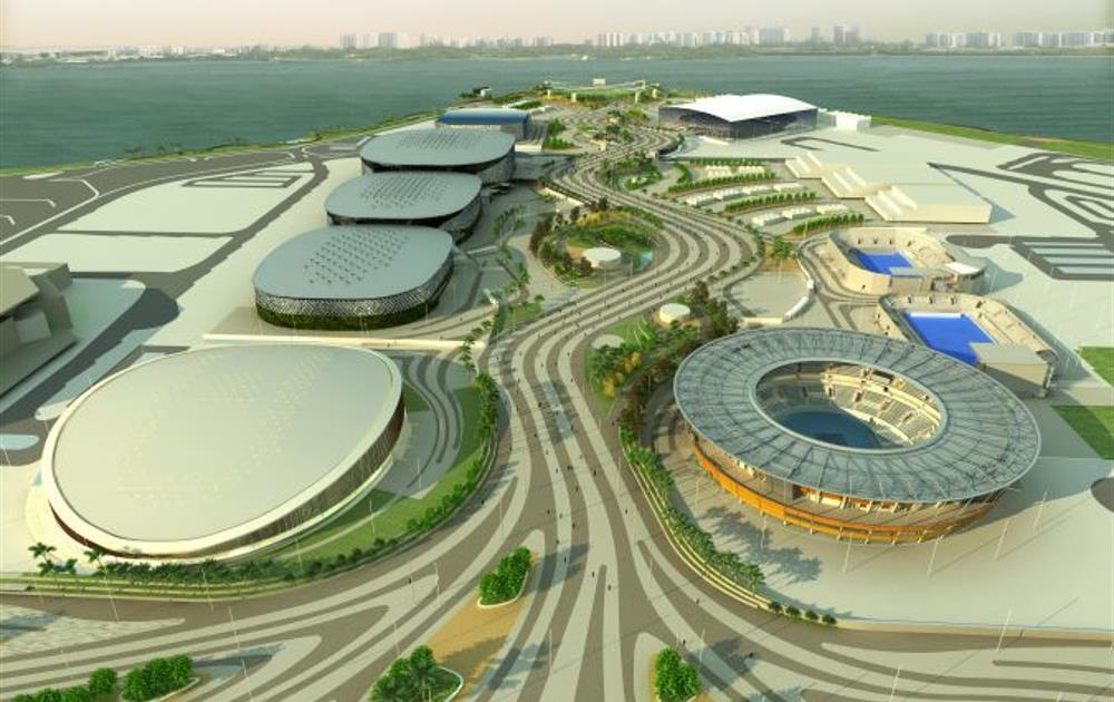 Así es el Parque Olímpico de Río, que será sede de 16 deportes