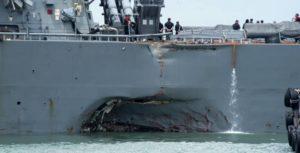 Singapur: Encuentran los primeros cuerpos de los marines de EEUU desaparecidos en el choque de un destructor
