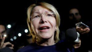 "Brasil: La ex fiscal venezolana, Luisa Ortega asegura en Brasil tener ""muchas pruebas"" contra Nicolás Maduro"