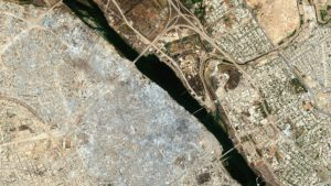 Las imágenes satelitales que muestran por qué la reconstrucción de Mosul requerirá 100 mil millones de dólares