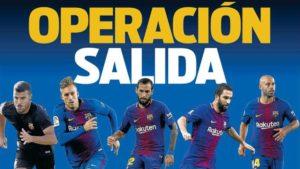 """Cinco figuras del Barcelona que están al borde del """"adiós"""" en este mercado"""