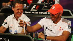"""""""Lewis Hamilton ve que los siete títulos de Michael Schumacher están a su alcance"""""""