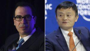 """Cruce en Davos entre Estados Unidos y China por el """"America First"""" y el libre mercado"""