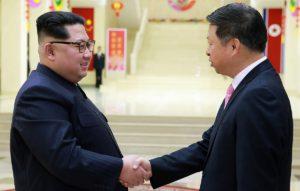 Kim Jong-un llamó a reforzar los vínculos entre Corea del Norte y China