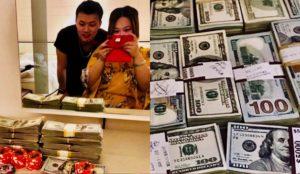 Usó a su novia como amuleto de la suerte en el casino, pero ganaron USD 500 mil y la dejó sin un centavo