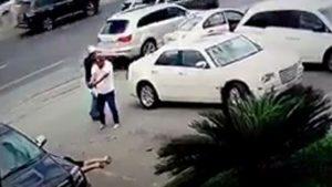 """Violencia narco en México: así mataron dos sicarios a """"La Borrega"""" cuando salía de una carnicería"""