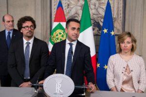 El Movimiento 5 Estrellas publicó el programa de gobierno que acordó con La Liga en Italia