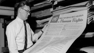 La Declaración Universal de los Derechos Humanos, cerca de los 70 años