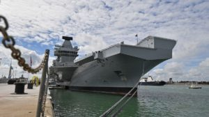 El nuevo portaaviones británico que costó USD 4.200 millones tiene una fuga que deja entrar 200 litros de agua por hora